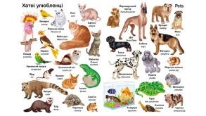 Перші слова. Тварини + англійська. Фото 4