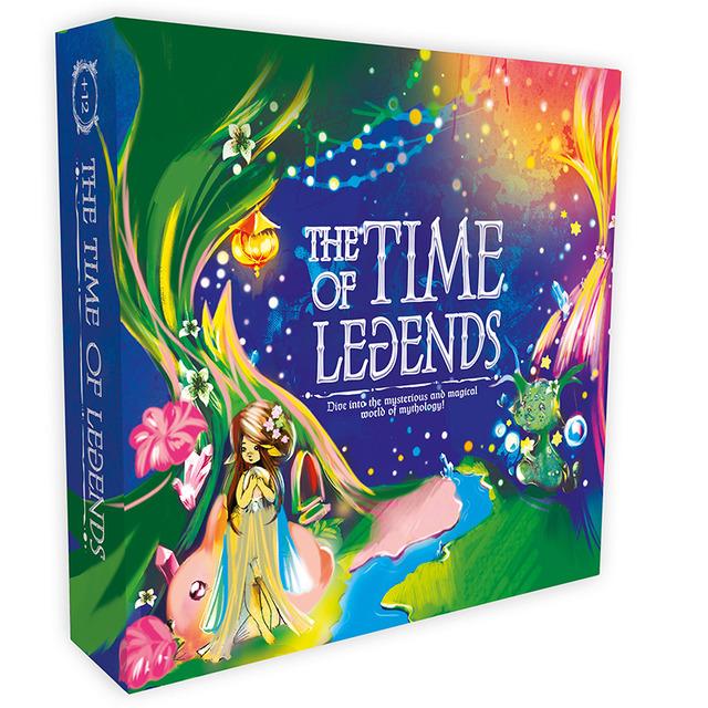 Настільна гра «The time of legends» (англійська мова)