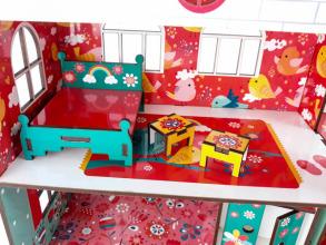 Будиночок кольоровий ігровий з ліфтом. Фото 3