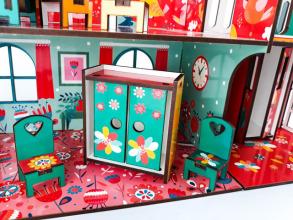 Будиночок кольоровий ігровий з ліфтом. Фото 5