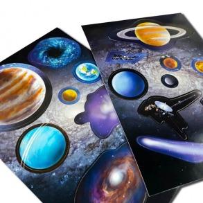 Пазл Космічна мандрівка Сонячною системою + книжка. Фото 4