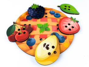Супер шнурівка Піца - пиріг. Фото 2