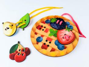Супер шнурівка Піца - пиріг. Фото 3