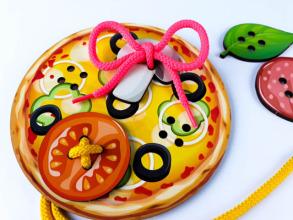 Супер шнурівка Піца - пиріг. Фото 5