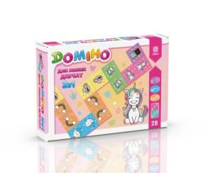 Гра Доміно 2 в 1 для милих дівчат. Фото 2