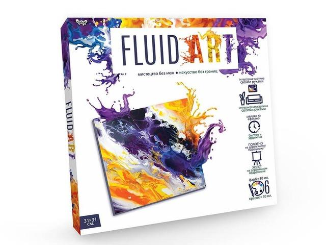 """Креативна творчість """"FLUID ART"""""""
