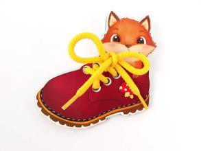 Шнурівка Черевичок із лисеням. Фото 2