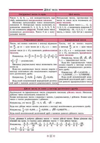 Довідник у таблицях — Алгебра. 7–11 класи. Фото 2